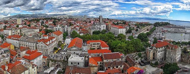 chorvatsko - domy