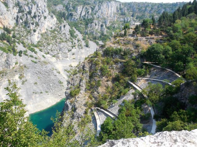 Modré jezero - Chorvatsko
