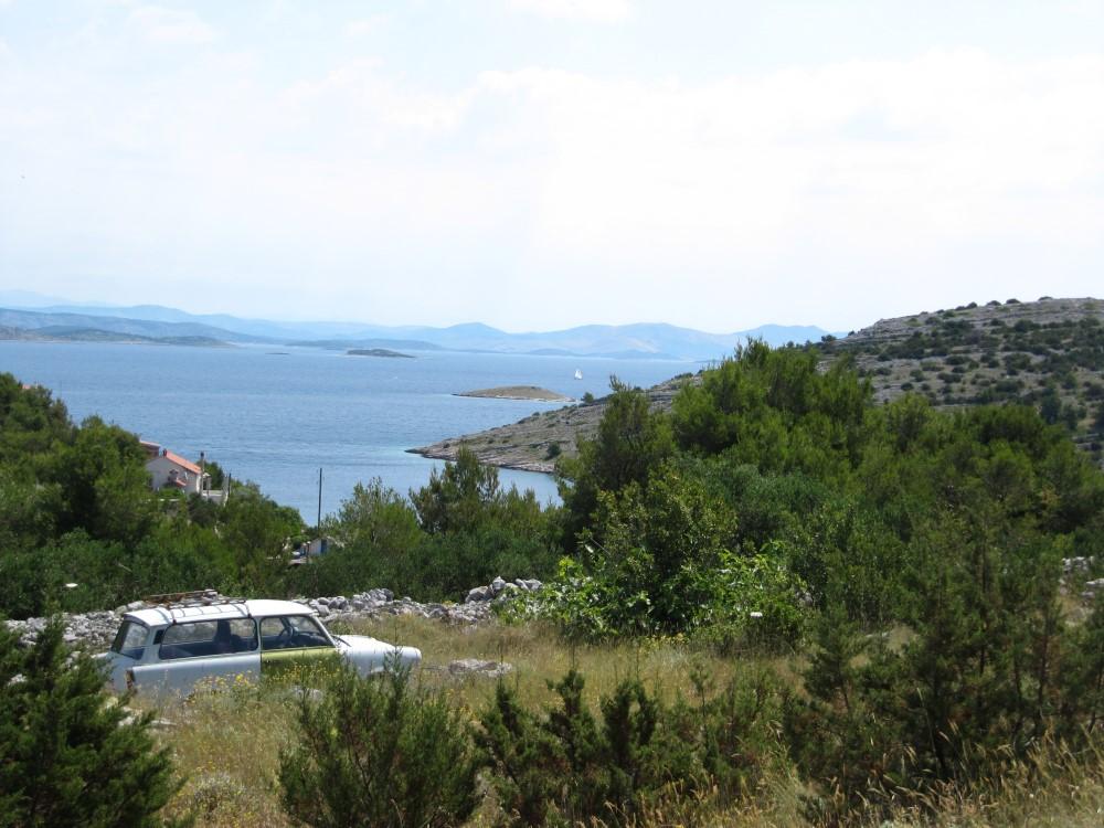 Žirje - výhled na okolní ostrovy